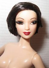 "* NUDE BARBIE ~ RAVEN LEA KAYLA ""THE LOOK"" CITY SHINE MODEL MUSE DOLL FOR OOAK"