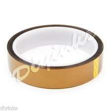 20mm High Temperature Polyimide Tape - Heat Resistant Kapton Tapes BGA 33m 100ft