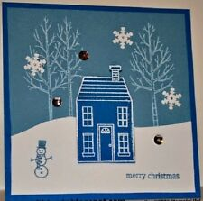 Stampin Up Sizzix Homemade Holiday Framelits Dies NEW Hallloween/Christmas