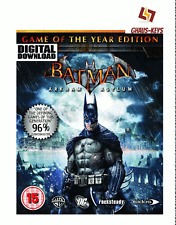 Batman Arkham Asylum GOTY Game of the year Steam Pc Key Game Code [Blitzversand]
