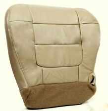 2001 2002 2003 Ford F150 Lariat Super Crew Driver Bottom Leather Seat Cover Tan