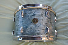 """1950's GRETSCH 13"""" MIDNIGHT BLUE PEARL TOM for YOUR DRUM SET! LOT #A14"""