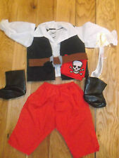 "Brand New Large Roby & Rio Smoby Dolls Clothes Pirate Suit. 25"" Dolls Clothes"