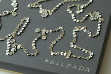 Silpada Sterling Silver Cha Cha Charm Confetti Long Necklace N2739
