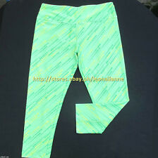 AUTH LULULEMON ATHLETICA CAPRI CROPPED STRETCHY LEGGINGS 6 / SMALL #10 BNEW