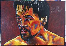 Boxing Roberto Duran ~ Signed Original By Patrick J Killian