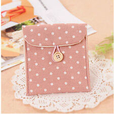 Portability Sanitary Towel Napkin Pad Purse Holder Case Easy Bag  Girl Organizer
