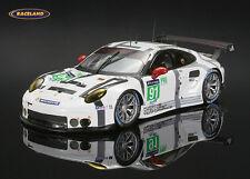 Porsche 911 RSR Manthey GTEPro 30° Le Mans 2015 Lietz/Christensen/Be. Spark 1:43