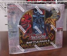 Konami YuGiOh Battle Pack 2 War of the Giants BOOSTER BOX Egyptian God Cards New