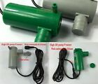 DC 12V 19w submersible water pump High lift 9M 500L/H Car Wash Bath Fountain