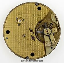 SWISS LEVER CHRONOGRAPH  POCKET WATCH MOVEMENT SPARES REPAIRS Q99