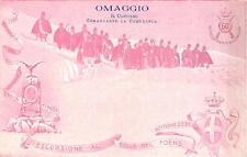 3322) ESCURSIONE AL COLLE DEL FOENS BARDONECCHIA 60 FANTERIA OMAGGI DEL CAPITANO