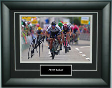 Peter Sagan Signed 8X12 inches 2016 UCI Cycling Photo Frame