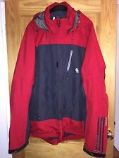 Men's Adidas Clima365 Gore-Tex Red & Grey Coat Size 2XL