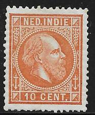 Netherlands Indies stamps 1870 NVPH 9E  P.13 1/2 x13 1/4  MLH  VF