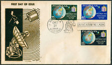 1968 Philippines PHILCOMSAT-POTC INAUGURATED First Day Cover