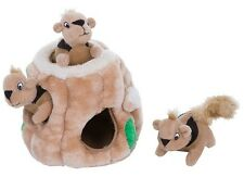 Outward Hound HIde a Squirrel Junior Dog Toy SMALL Squeaky Interactive Puzzle