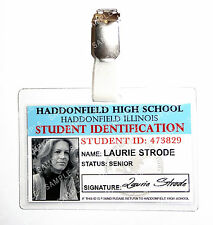 Halloween Laurie Strode Student ID Badge Horror Cosplay Costume Prop Comic Con