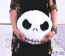 Nightmare Before Christmas Jack Skellington Face Stuffed Plush Pillow Cushiions