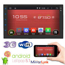 "Android 5.1 3G WIFI 7"" Double 2DIN Car Radio Stereo NO DVD Player GPS Bluetooth"