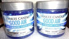Yankee Candle 2 Good Air JUST PLAIN CLEAN Fragrance Spheres ~ FREE SHIPPING