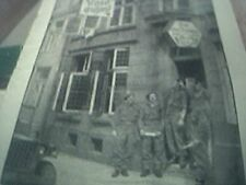 book picture ww2 world war two RA british at the german rose of england pub afte