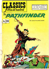 (2) CLASSICS ILLUSTRATED #22 Pathfinder #40 Mysteries/Poe NO BACK COVERS