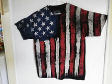 MEN'S PATRIOTIC TSHIRT USA FLAG AMERICAN PRIDE STARS STRIPES RED WHITE BLUE  ODM