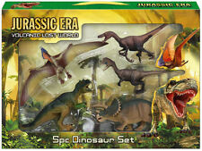 5 piece Dinosaur Playset Toy Animals Action Figures Set T Rex Jurassic Park