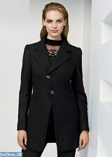 Next Black Wool Blend Frock Coat 16