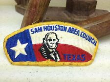 SAM HOUSTON AREA TEXAS  BOY SCOUT OF AMERICA PATCH