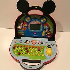 Vtech Mickey Mouse Clubhouse Mousekadoer Laptop Computer Learning Toy