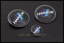 HOOD TRUNK EMBLEM BADGE FOR BMW HARTGE E31 E39 E65 X5 523i 525i 528i 530i 535i
