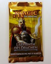 Labyrinth des Drachen Booster deutsch Magic the Gathering MtG