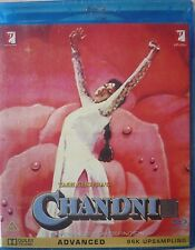 CHANDNI - Bollywood Movie Blu-ray + DVD with Special Features.
