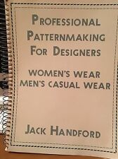Professional Pattern Making for Designers of Womens Wear Jack Handford 1984