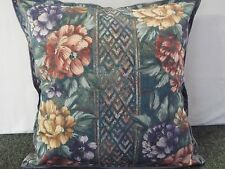 EXTRA LARGE  CUSHION GREEN,GOLD ,LILAC AND PINK