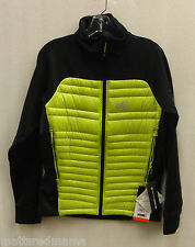 Millet Mens Touring Hybrid Down Jacket MIV5578 Acid Green 3081 Size Medium