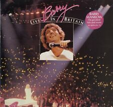 BARRY MANILOW Barry Live In Britain 1982 UK VINYL LP  EXCELLENT CONDITION