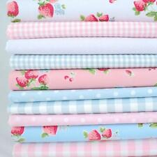 Scampoli - 10 Fat Quarter Estate Fragola Fiori Bundle Poly Cotone
