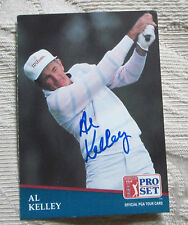 RARE AL KELLEY AUTO SIGNED TRADING CARD PGA TOUR GOLFER BLOWOUT SALE
