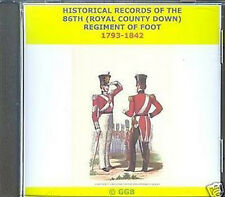 THE 86TH ROYAL COUNTY DOWN REGIMENT OF FOOT 1793-1842