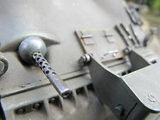 Bug mg cal 30mm Sherman RC tanque Pánzer metal transformación kit kit de accesorios 1/16