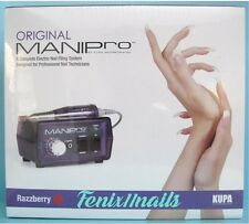KUPA ORIGINAL MANI-PRO ELECTRIC FILING MACHINE~Handpiece & Razzberry Control Box