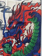 Colorful Dragon Sleeve Tattoo 17.5 Length Fit All Size Insane Fire Flame Dragon