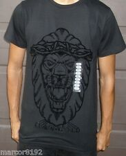 Aura Gold Finally Famous Men T-Shirt Black Tee W/ Lion Size Small New W/ Tag