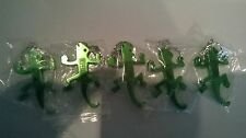 5 x Desperados Green Lizard Bottle Opener Key Ring COLLECTABLE - 8cm FREE UK P&P