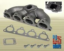 93-97 Honda Civic/Delsol SOHC D15 D16 T3/T4 Cast Turbo Manifold Keep AC/PW