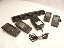 LOT 4X Intermec 750 Wireless Color Mobile Pocket PC with 4 Dock Charger