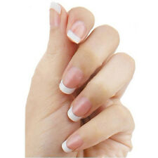 100 Pcs French False  White Decoration Manicure UV Gel  Acrylic Nail Art Tip